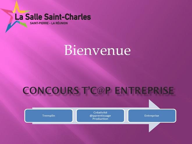 Concours t cap'entreprise réunion de présentation du 18-02-16
