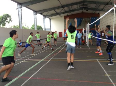 finale académique UNSS volley