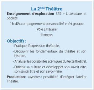 la 2nde theatre