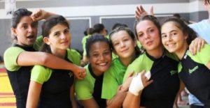 Minimes filles équipe 1- championne d'académie