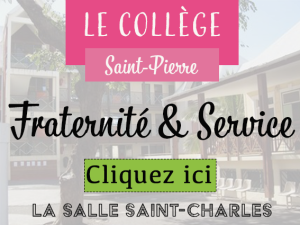 CollègeSTPIERREfraternité&service