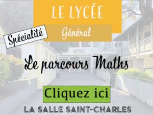 LycéeGénéSpéParcoursMath