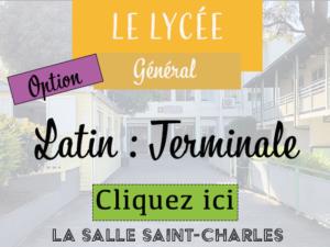 LycéeGénéTleLatin