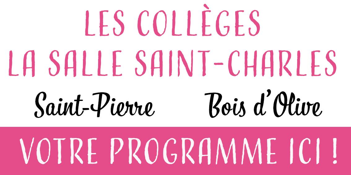 page programme collège