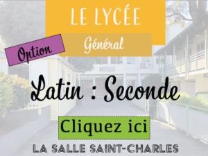 LycéeGéné2ndeLatin