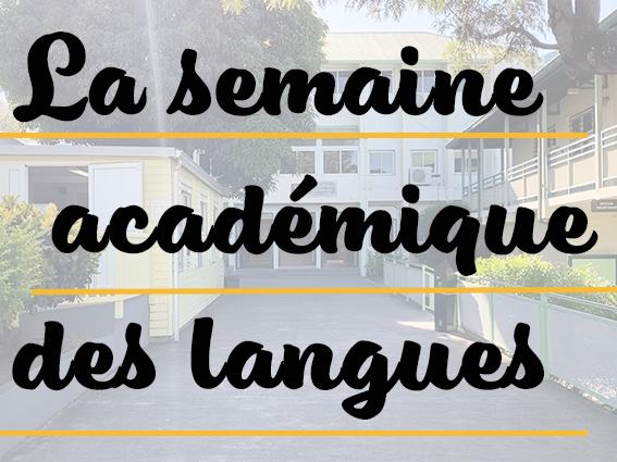 semaine ac des langues